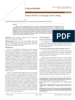 In Vitro in Vivo Correlation Ivivc a Strategic Tool in Drug Development Jbb.S3 001