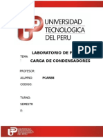 242566883 Lab 6 Fisicaiii Carga de Condensadores PDF
