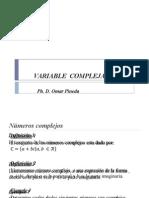 Presentaciones Variable Compleja
