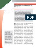 Arthroscopic Management of the Stiff Elbow