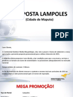 PProposta Promocional de Lampoles - October 2015