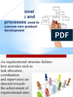 organizational structures and process