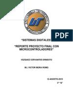 Reporte Proyecto Final Medidor de Temperatura