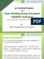 Energy Simulation Training