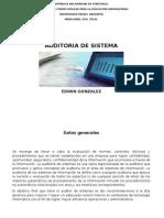 Programa Auditoria de Sistema Completo