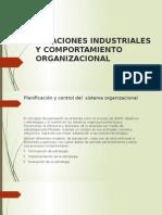 Relaciones Industriales y Comportamiento Organizacional
