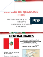 Cultura de Negocios en Peru