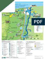 Kanäle Frankreich Rhein Rhone
