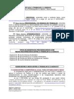 Cartilha Sobre NEXO Trabalho e Porfissiografia Contestações CAT SAT FAP