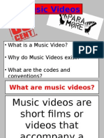 Music Video Lesson