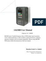GK 3000 Variable Frequency Drive User Manual