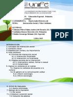 Estructura de SOCIOLOGIA