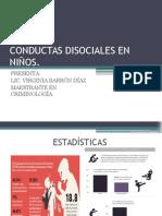 Conductas Disociales en Niños Proyecto. 2