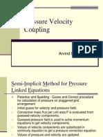 pressure velocity coupling