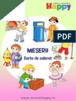 Meserii Carte de Colorat