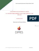 Informe Presión Fiscal en Córdoba - 2016