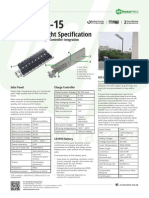 Datasheet PJUTS Integrated 15 W