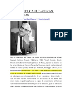 Obras de Michel Foucault
