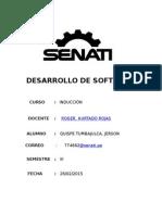 Senati Virtual - Inducción