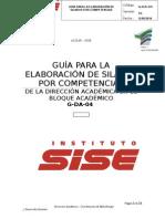 Guia Para La Elaboracion de Silabo Por Competencias