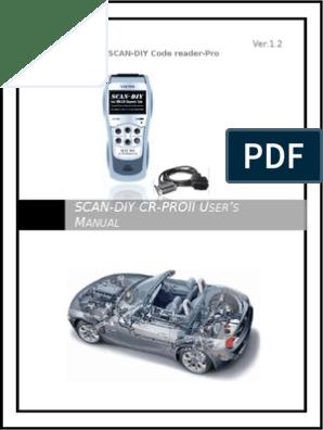 OBD II User Manual | Tecnologia de Veículos | Veículos