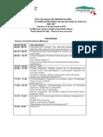 Programa 4º Coloquio Gerontologia 2015