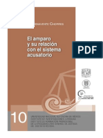El Amparo y Su Relacio Con El Sistema Acusatorio Series Juicios Orales Num 10