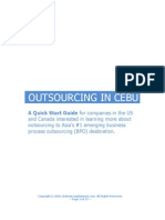 Outsourcing in Cebu Philippines