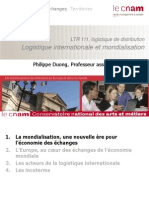Ltr 111 Logistique Internationale Et Mondialisation 2014 2015