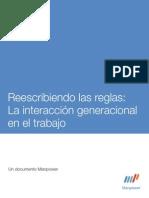 Generaciones laborales de  Mexico