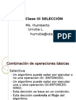 Clase III Seleccion
