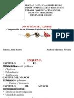 Los Juegos del Hambre. Comparación de los Sistemas de Gobierno de Panem y Venezuela