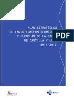 Plan Estratégico de Investigación Biomédica y Ciencias de La Salud 2011-2013