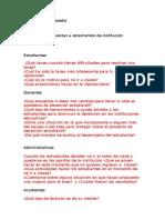 Investigacion - Preguntas a Estamentos de Institución Educativa Adrian