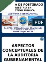 GESTION PUBLICA - El Proceso de La Auditoría Gubernamental