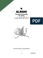 Almani Deutsche Grammatik Für Araber