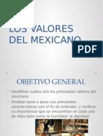 1.3 Los Valores Del Mexicano