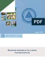 Cuentas Macroeconomicas Revisiones Recientes