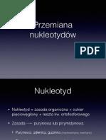 Przemiana nukleotydów