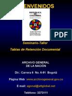 TDR TABLAS DE RETENCION DOCUMENTAL ARCHNACGOVCO.ppt