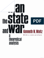 Man, The State and War- Kenneth Waltz