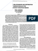 STRATIGRAPHIC  RELATIONSHIPS  AND  DISTRIBUTION  OF  SOURCE  ROCKS  IN  THE  GREATER  ROCKY  MOUNTAIN REGION