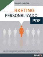 Implementar El Marketing de Personalizacin