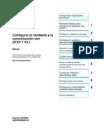 Configuración Del Hardware Con STEP 7