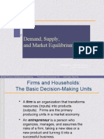 Demand and Supply56