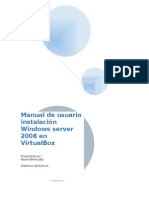 instalacion windows server 2008