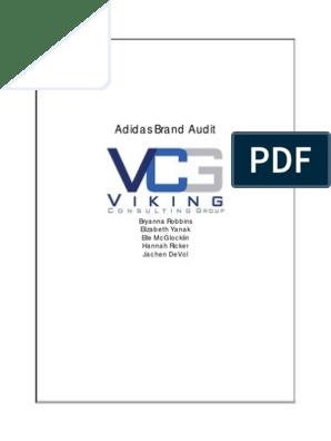 VCG_Adidas_Brand_Audit pdf | Adidas | Nike
