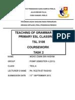 Lesson Plan Grammar