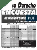 Encuesta 2015 CPC UBA DERECHO