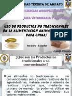 uso de productos no tradicionales (platano, papa china).pdf